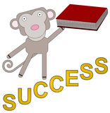 An educated monkey Stock Images
