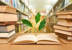 Educated. Philosophy knowledge book day world wisdom Stock Photo