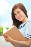 Educated student Royalty Free Stock Photos