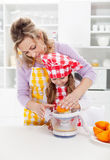 Educating children for a healthy diet and life Stock Image