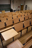 Education. Lecture hall with blackboard in the front Royalty Free Stock Photo
