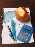 Education. Photograph of school stationary,concept being education Royalty Free Stock Images