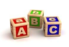 Education. Play Blocks ( on white background royalty free illustration