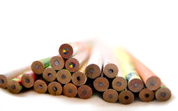 Education. With abstract colorful pencils Royalty Free Stock Photo