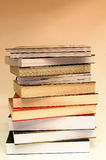 Education. Books Pile royalty free stock images