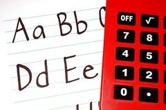 Education ABCs Stock Photos
