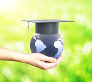 Education abroad Royalty Free Stock Image