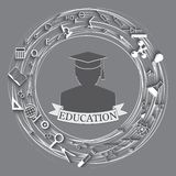 Education abstract background Royalty Free Stock Images
