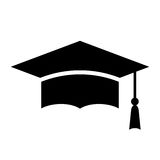 Education abstract vector icon Stock Image