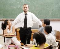 Education activities in classroom Stock Photography
