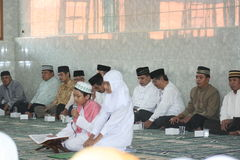 Education activities in mosque, Stock Photography