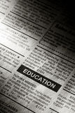 Education Ad Stock Photography