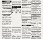 Education Ad Stock Photos