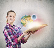 Education advantage Royalty Free Stock Photo