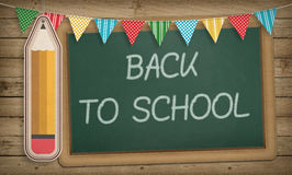 Education, Back to School Concept, Blackboard Stock Photo
