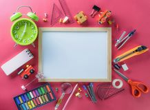 Education, Back to School concept with copy space royalty free stock photography
