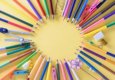 Education, Back to School concept with copy space royalty free stock photos
