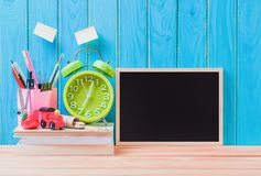 Education, Back to School concept with copy space royalty free stock image