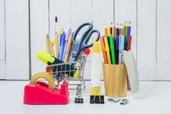 Education, Back to School, Shopping Stock Photos