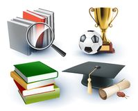 Education background Stock Photos
