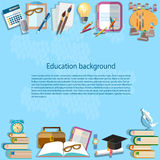 Education background back to school Royalty Free Stock Photography