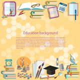 Education background back to school university college Royalty Free Stock Photo