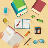 Education background Royalty Free Stock Photo