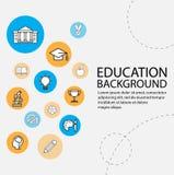 Education background Royalty Free Stock Photos