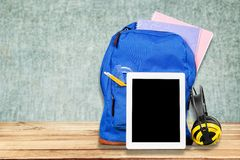 Education Backpack Royalty Free Stock Images