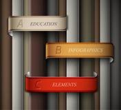 Education banner royalty free illustration