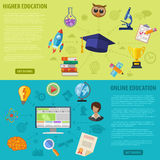 Education Banners Stock Photography