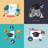 Education banners Royalty Free Stock Images