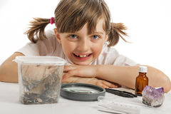 Education biology for children Royalty Free Stock Photos