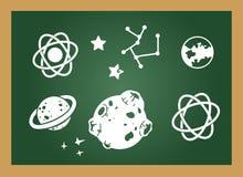 Education blackboard Stock Photo