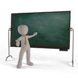 Education of a board Royalty Free Stock Photo