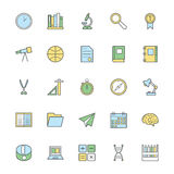 Education Bold Icons Illustration 3. Introducing Education Vector Icons Pack - filled with even more and more educational icons and symbols. Hope you can use Royalty Free Stock Photo