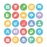 Education Bold Vector Icons 2 Royalty Free Stock Photo