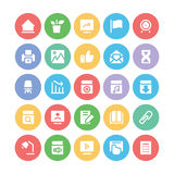 Education Bold Vector Icons 3 Stock Image