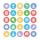 Education Bold Vector Icons 1 Royalty Free Stock Image
