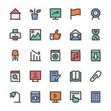 Education Bold Vector Icons 3 Royalty Free Stock Image