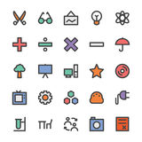 Education Bold Vector Icons 4 Stock Photos