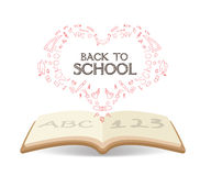 Education book background Royalty Free Stock Photo
