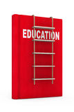 Education Book with Rope Ladder Stock Photography