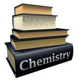 Education books - chemistry royalty free stock images