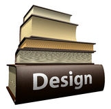 Education books - design Royalty Free Stock Photo