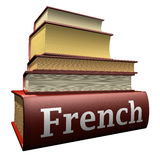Education books - french Stock Photos