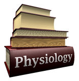 Education books - physiology Royalty Free Stock Photography
