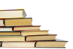 Education books stack Royalty Free Stock Images