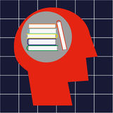 Education by Books Stock Photography
