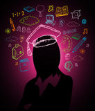 Education brainstorm concept Stock Photography